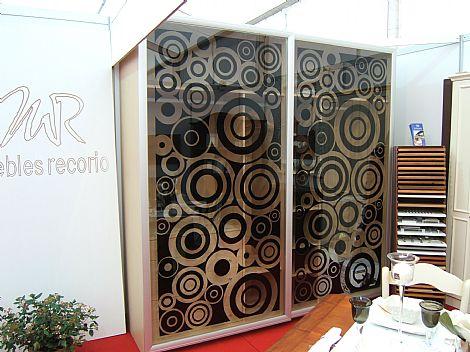 Armario armario con puerta corredera y cristal vinilo - Vinilo puerta cristal ...