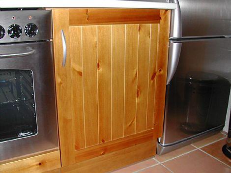 Cocina con puertas tablilla muebles de cocina con puertas for Muebles de cocina asturias
